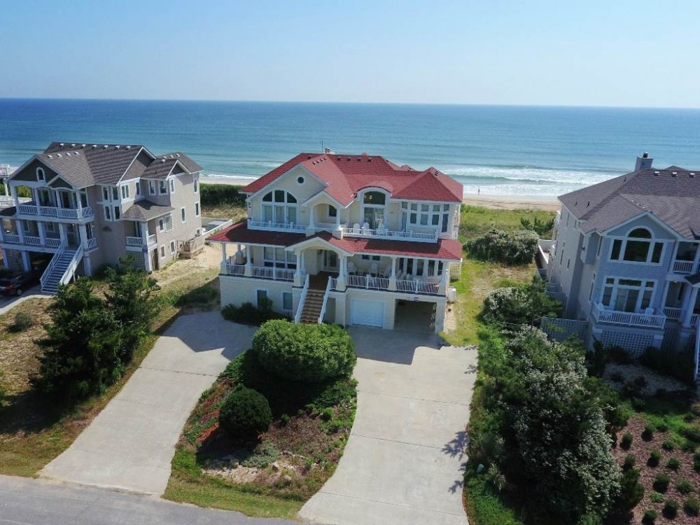 Corolla vacation rental with Chateau E  lan
