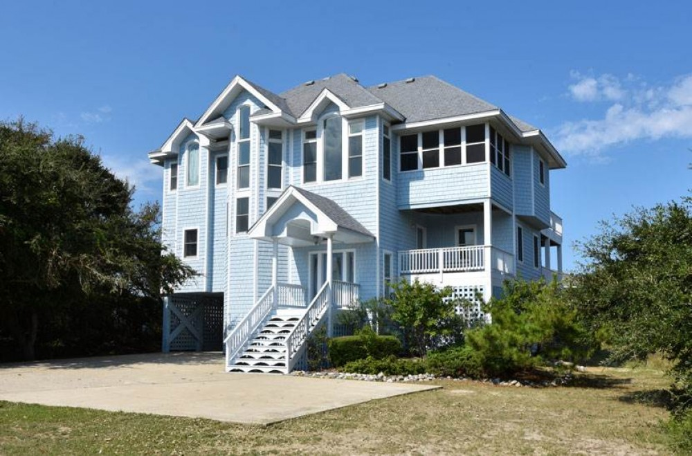 Corolla vacation rental with Pine Island Perfection