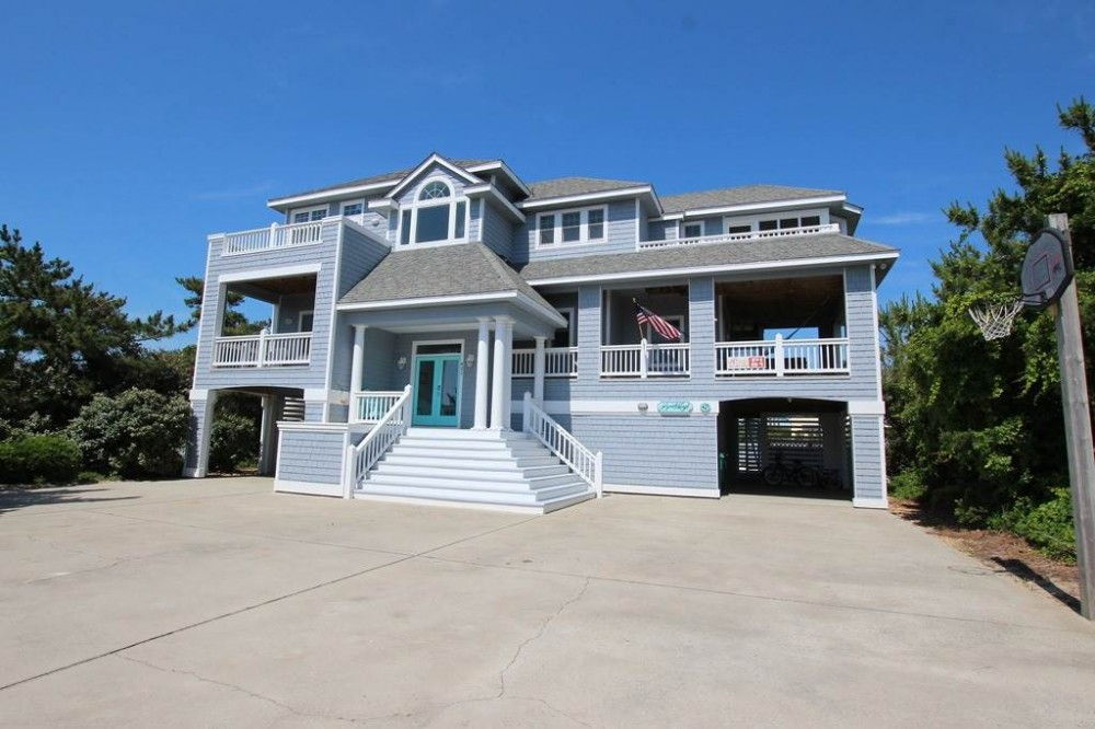 Corolla vacation rental with Beach Magic