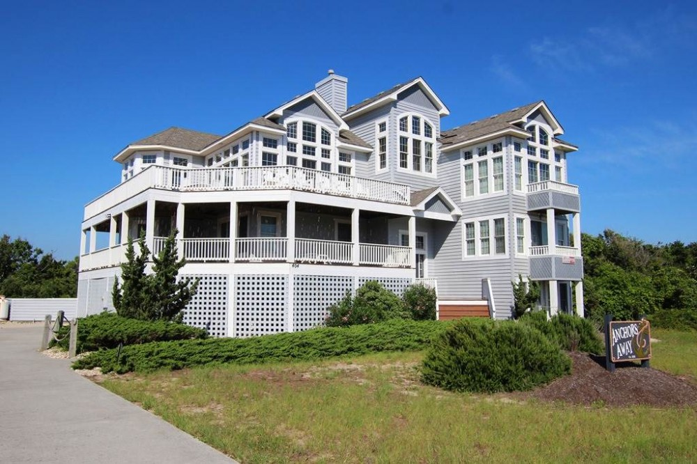 Corolla vacation rental with Anchors Away