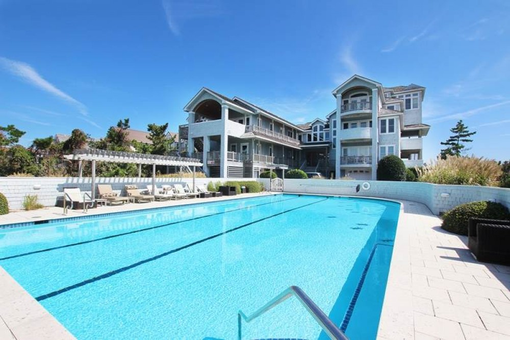 Duck vacation rental with Palmers View