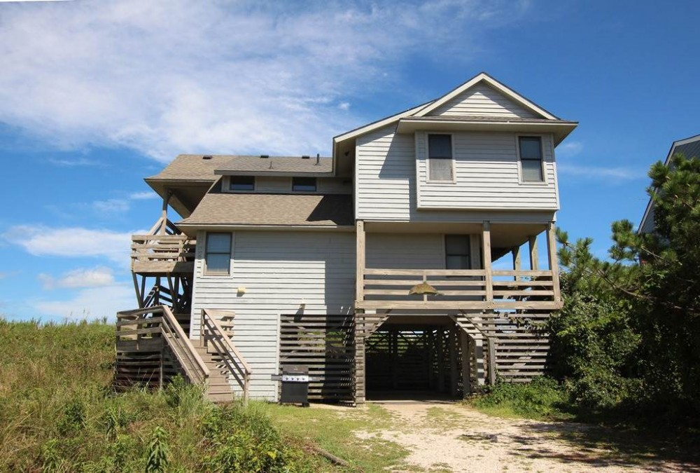 Duck vacation rental with Dolphin View