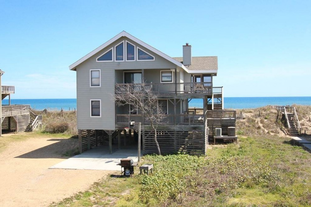 Duck vacation rental with Wild Waves
