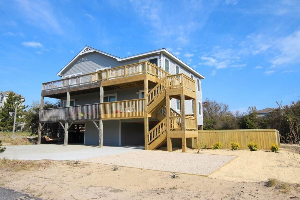 Duck vacation rental with Salty Old Duck
