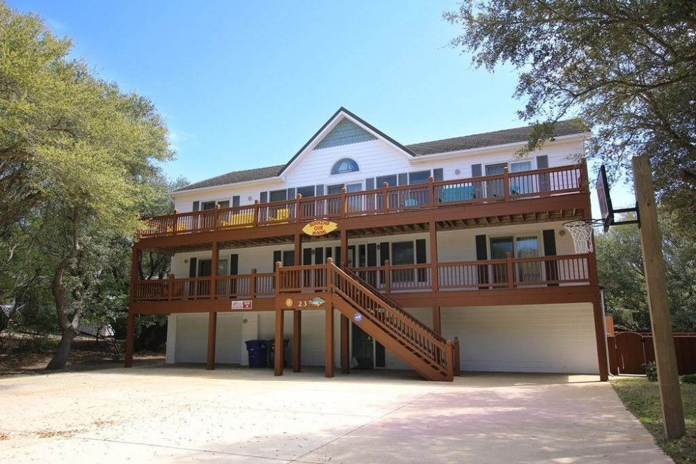 Southern Shores vacation rental with Sunning Your Bunns