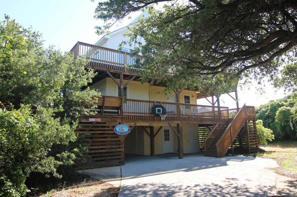 Duck vacation rental with Surf   N   Duck
