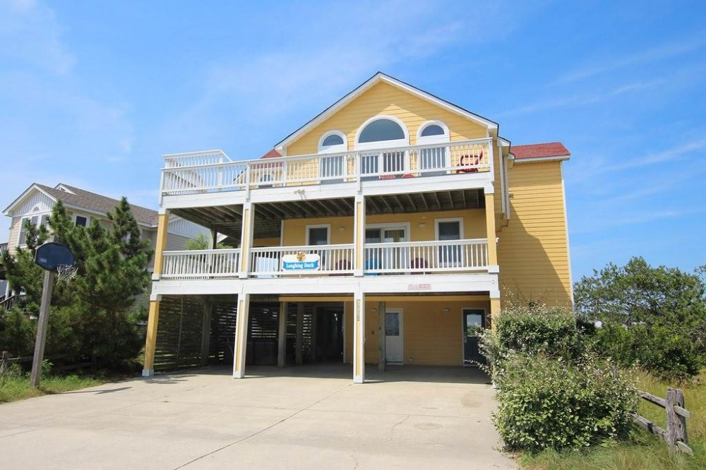 Corolla vacation rental with Laughing Duck