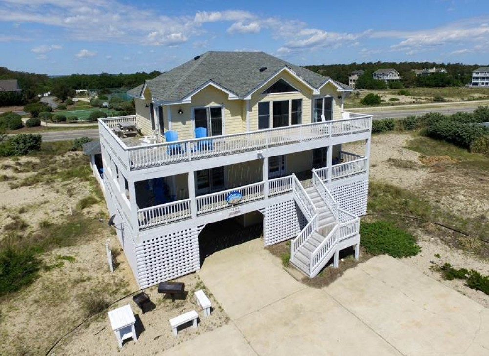 Corolla vacation rental with Safe Harbor