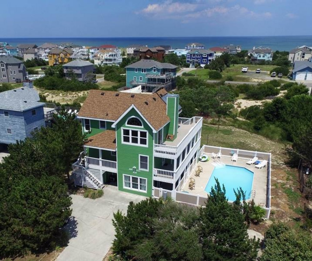 Corolla vacation rental with  relax