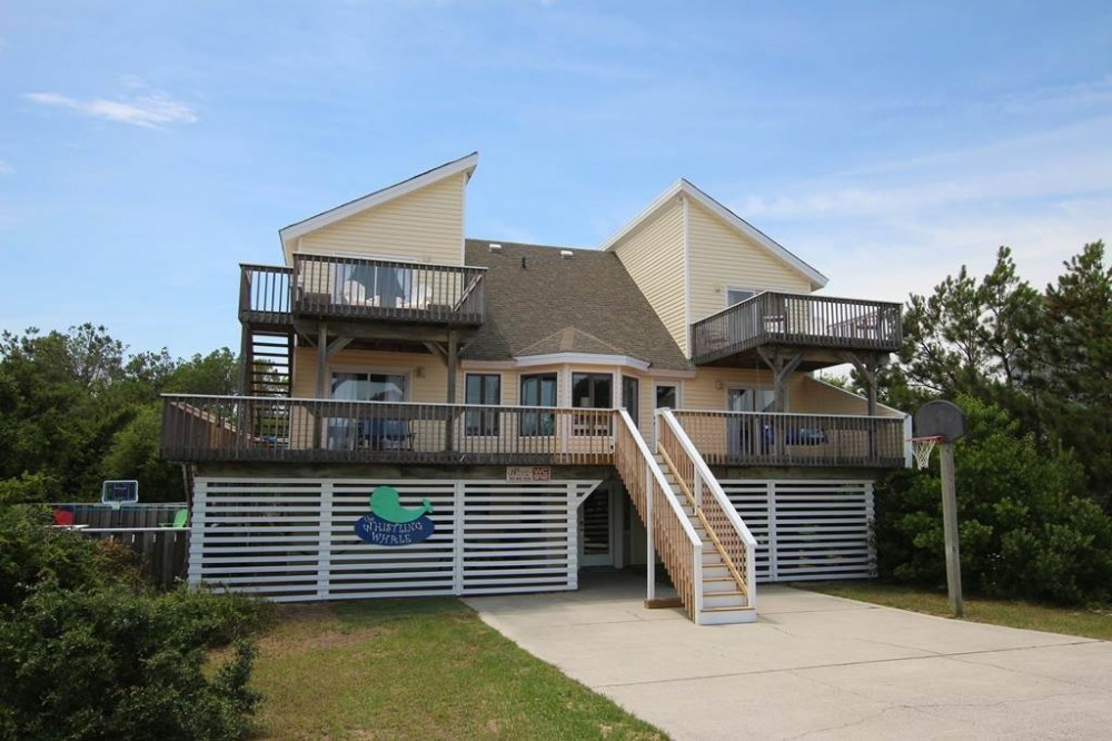 Corolla vacation rental with The Whistling Whale