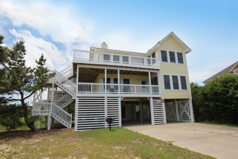 Corolla vacation rental with Dream Catcher