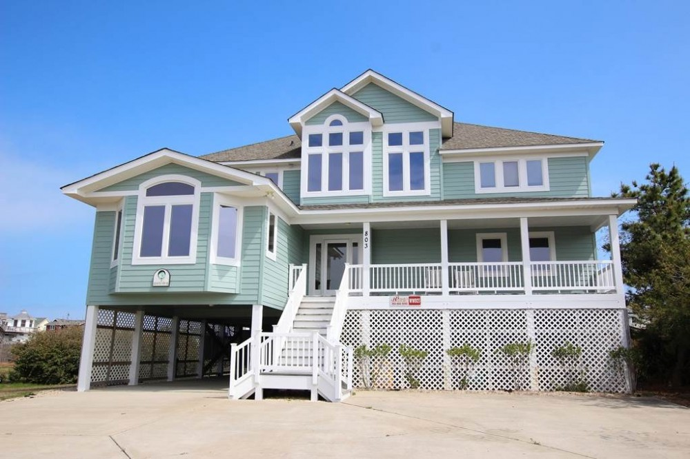 Corolla vacation rental with Coastal View IV