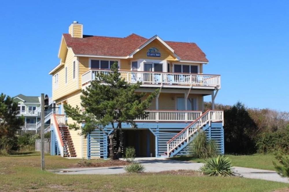 Corolla vacation rental with Atlantic Paws