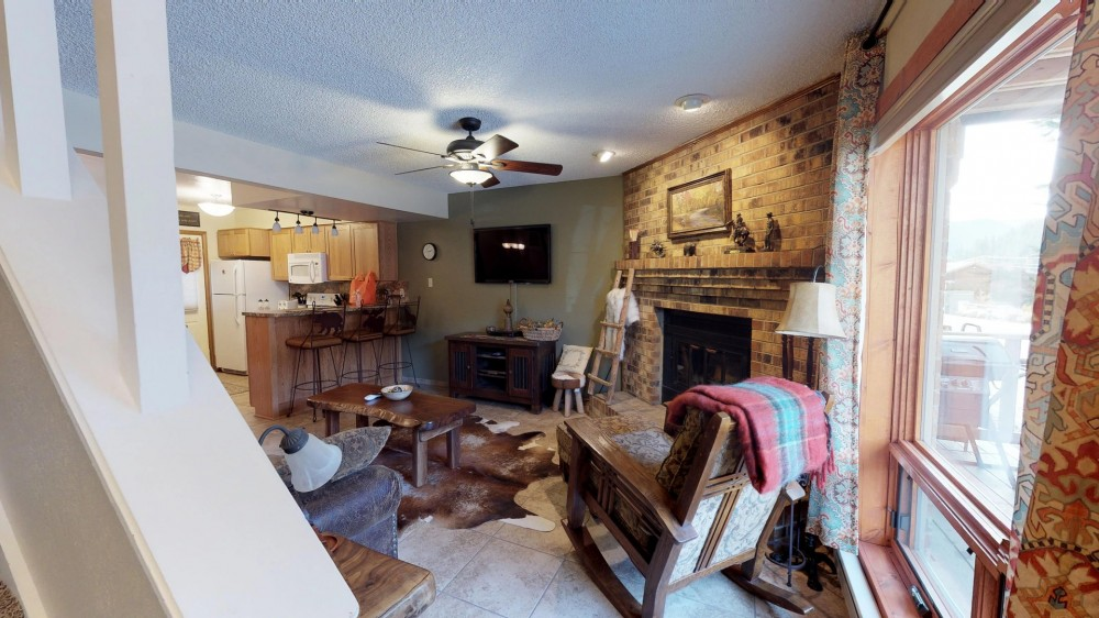 Red River vacation rental with Living Room