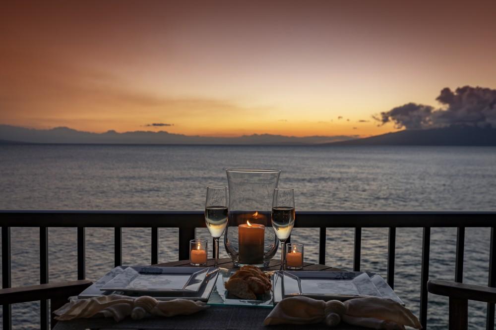 Lahaina vacation rental with Spectacular 1 Bedroom Oceanfront Corner Unit at Maui Kai Ka anapali Beah 301