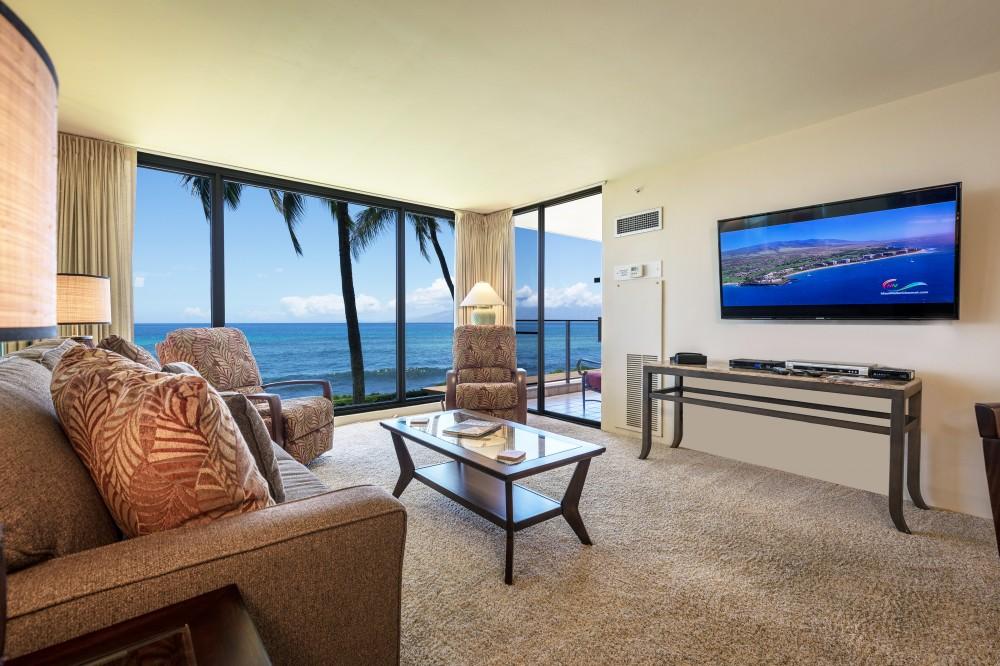 Lahaina vacation rental with Newly Renov  Mahana Condo 215 Breathtaking Full Ocean View-  Spring Special