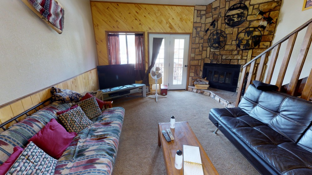 Red River vacation rental with Living room second floor