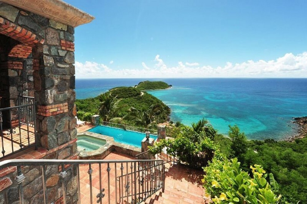 Cruz Bay vacation rental with Your amazing view from Casa del Sol