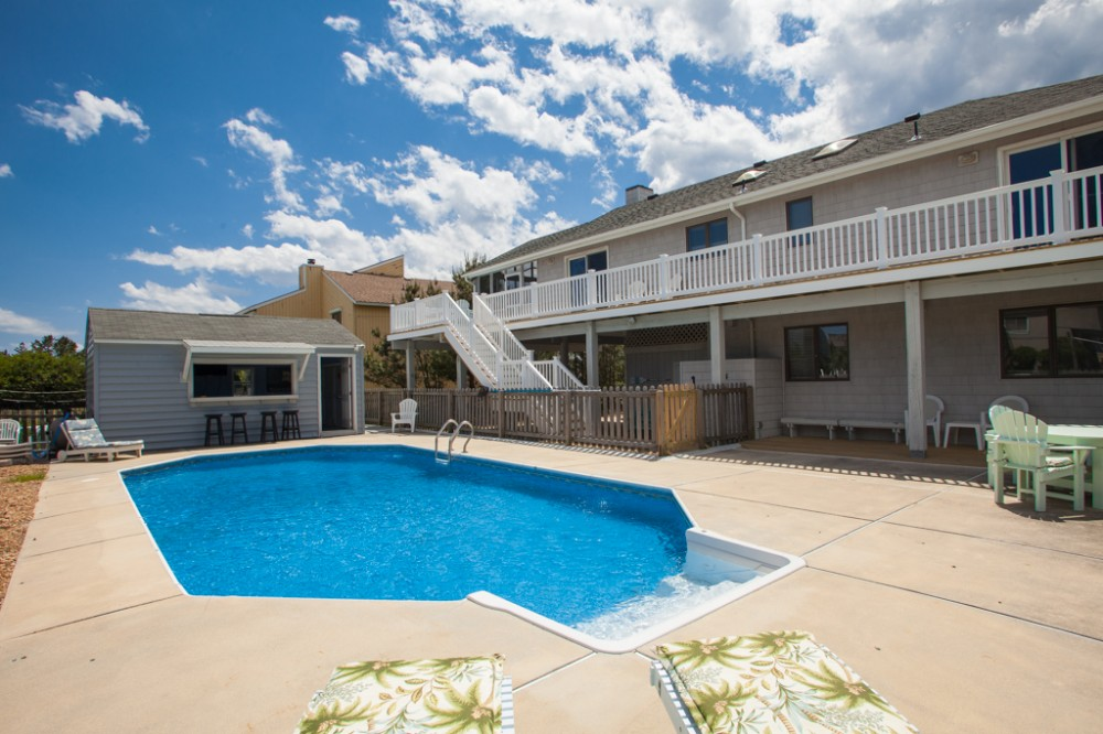 Virginia Beach vacation rental with Comfortable 6 bedroom home with game tables   private pool  short walk to the beach