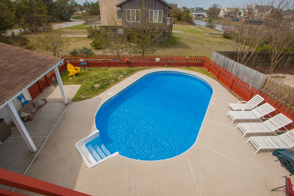 Virginia Beach vacation rental with Delightful 5 bedroom  dog-friendly home w  private pool  short walk to the beach