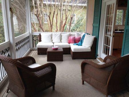 Hilton Head Island vacation rental with Cozy Screened Porch