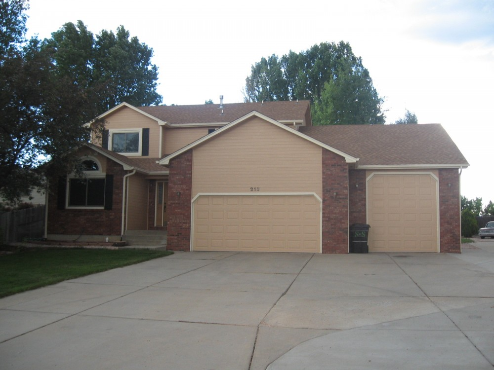 Fort Collins vacation rental with Front exterior