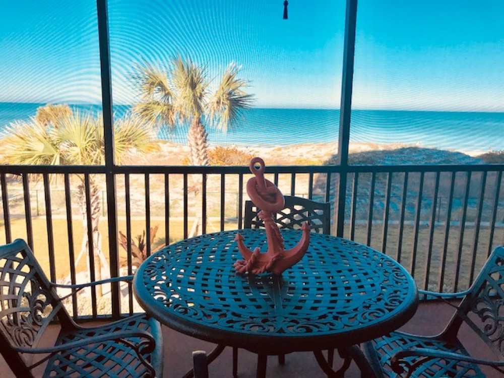 Indian Rocks Beach vacation rental with Awesome balcony ocean view!