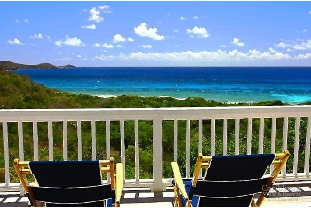 Reef Bay vacation rental with