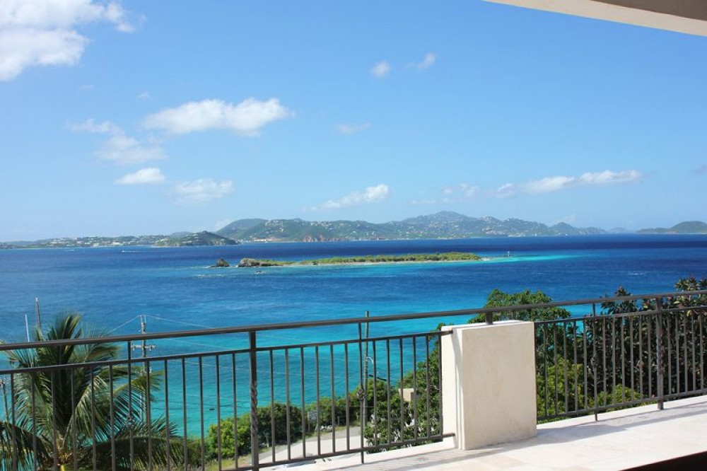 Cruz Bay vacation rental with Your views include distant islands, turquoise seas and gorgeous sunsets