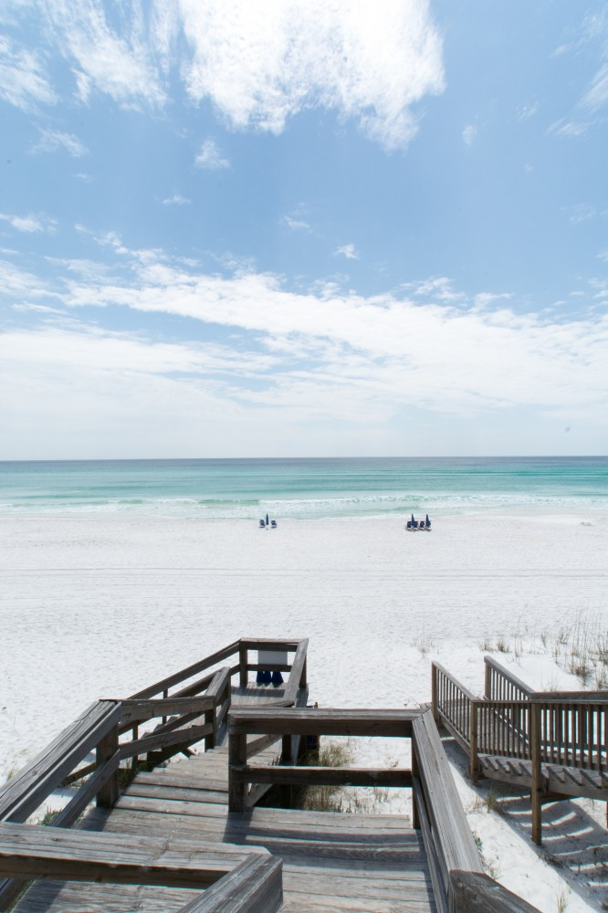 Santa Rosa Beach vacation rental with AWESOME QUADPLEX LOCATION GULF FRONT   FREE WiFi   2 OR 4 Bedroom See Details