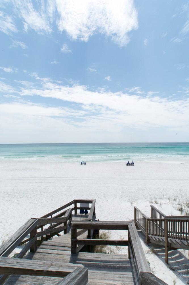Santa Rosa Beach vacation rental with AWESOME QUADPLEX LOCATION GULF FRONT   FREE WiFi