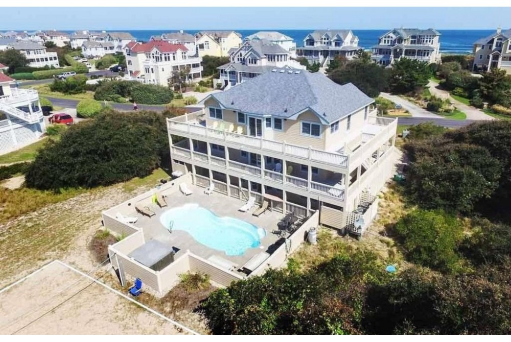 Corolla vacation rental with