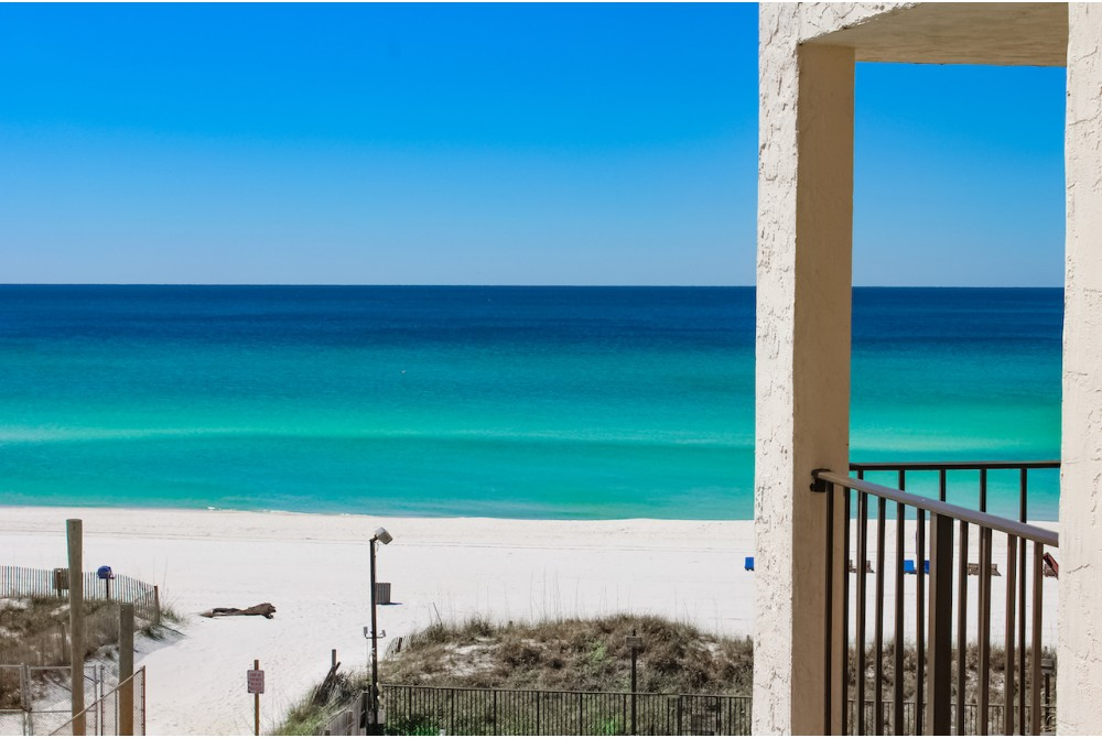 Panama City Beach vacation rental with Living Room Vview