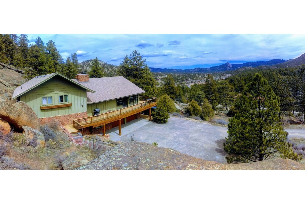 Estes Park vacation rental with Old Man Lookout #1