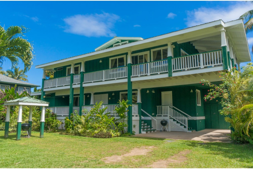 Hanalei vacation rental with Front of Home