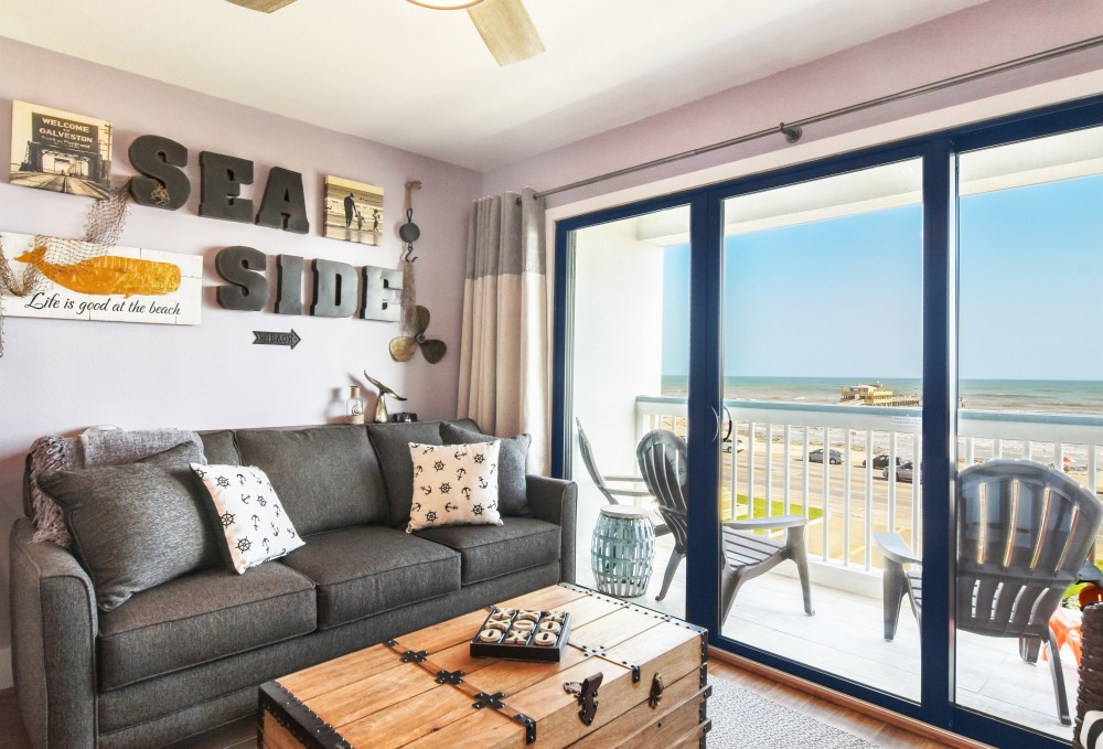 Galveston vacation rental with That view  Top floor  front row   Can t be beat