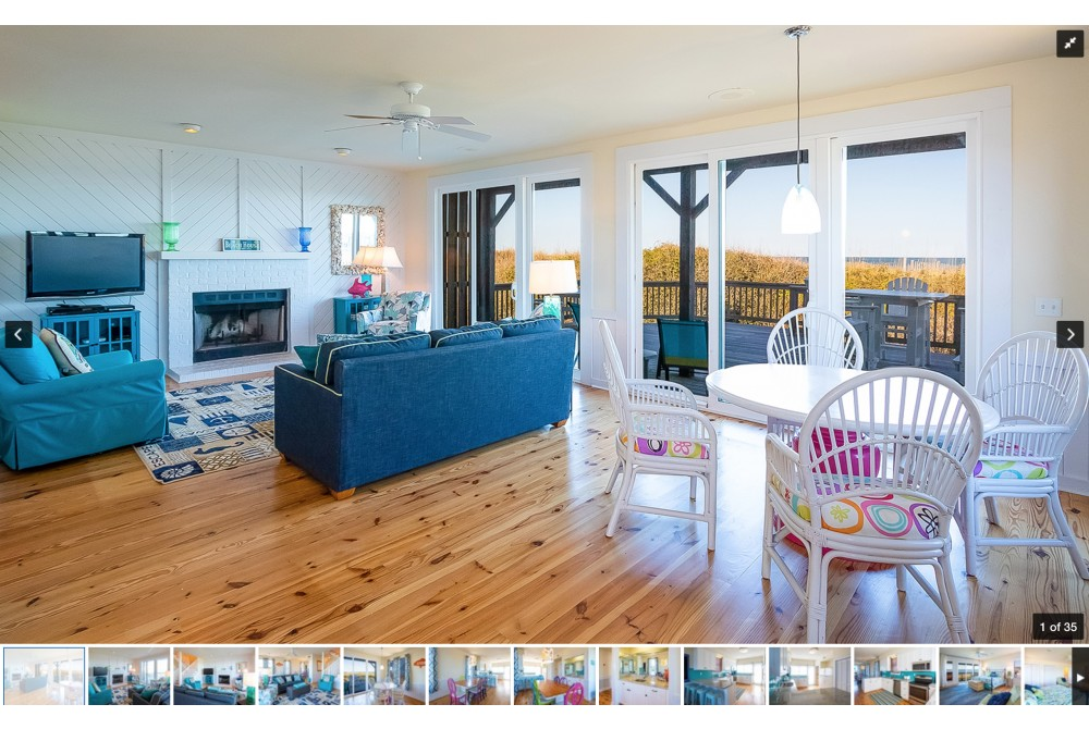 Duck vacation rental with