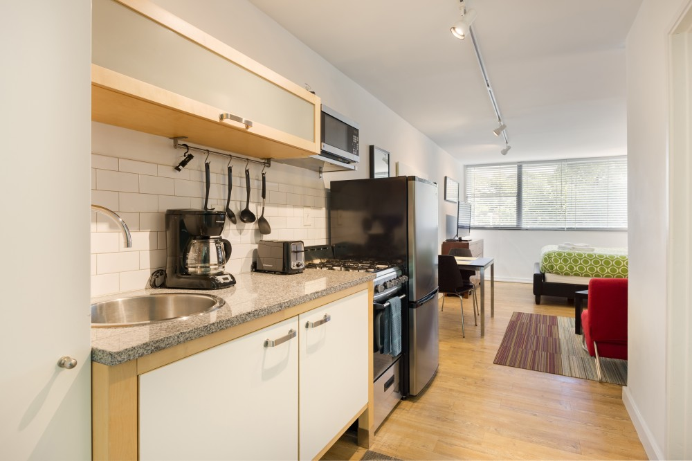 Atlanta vacation rental with Fully Equipped Kitchen and Living Room - Short Term Apartment Atlanta - Chic Premium Studios On 25th
