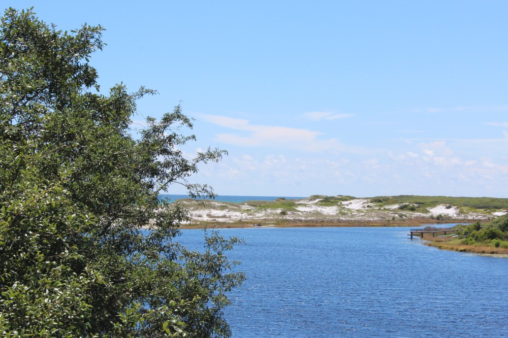 SANTA ROSA BEACH vacation rental with DREAMS ARE MADE OF THIS  VERY PRIVATE   SECLUDED  LAKE VIEWS AND GULF VIEWS