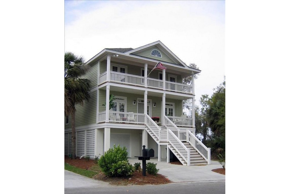 Fripp Island vacation rental with Front of House