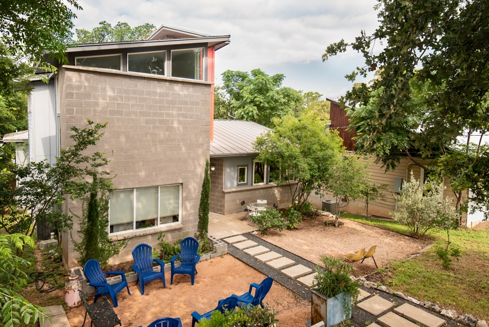 Austin vacation rental with The perfect Downtown Austin retreat   Super close to everything  yet you feel away from it all on a quiet street with trees all around  Make this 3 story vintage-modern house your getaway