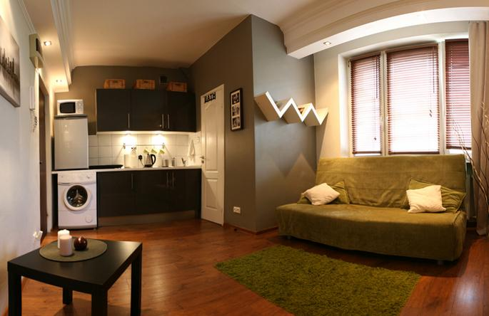 Very Central and Tastefully Decorated Studio Apartment 25 m²