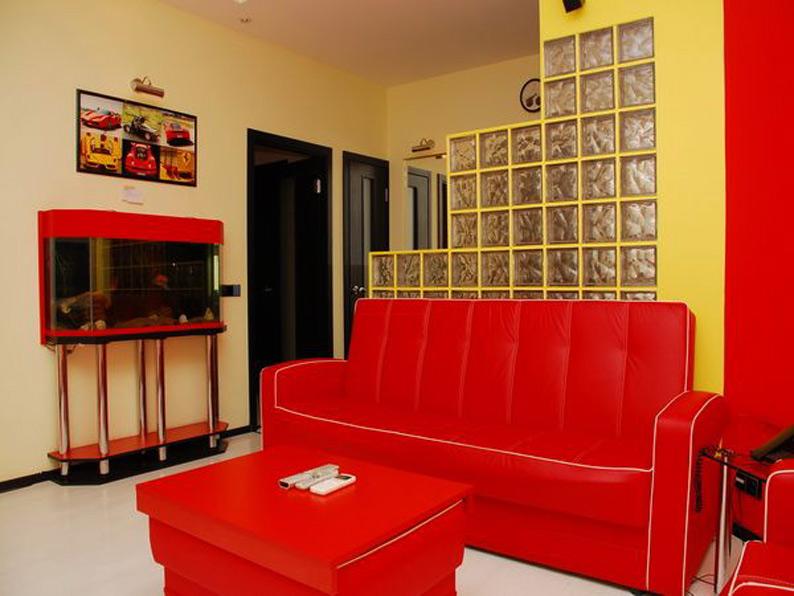 Ferrari Apartment - One bedroom luxury apartment in Kiev center