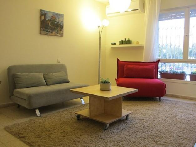 Emek-Refaim Beautiful and Quiet 1 Bedroom Apartment