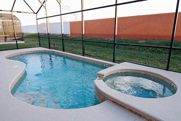 6 Bed Short Term Rental Villa orlando