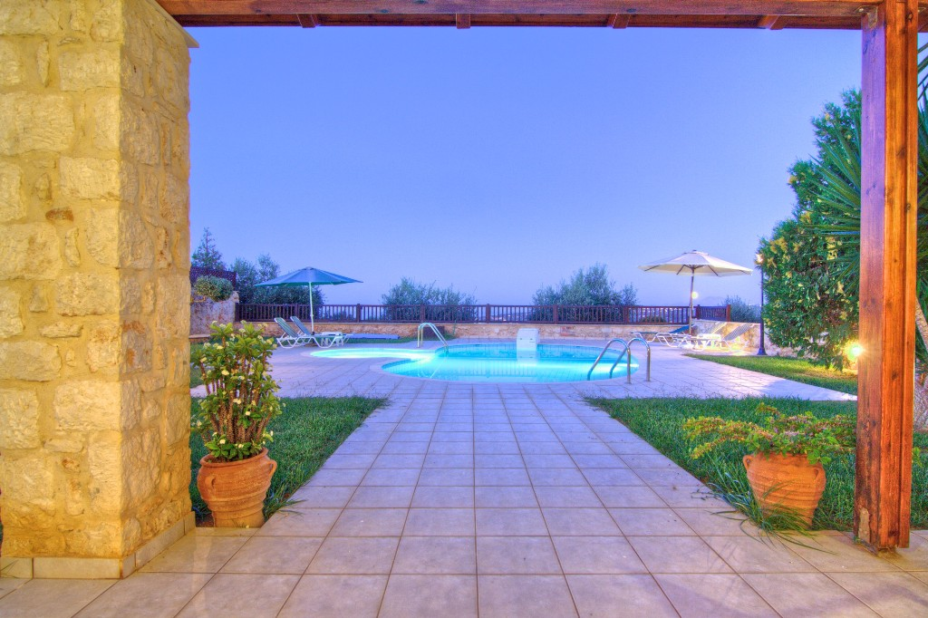 3 Bed Short Term Rental Villa Rethymnon