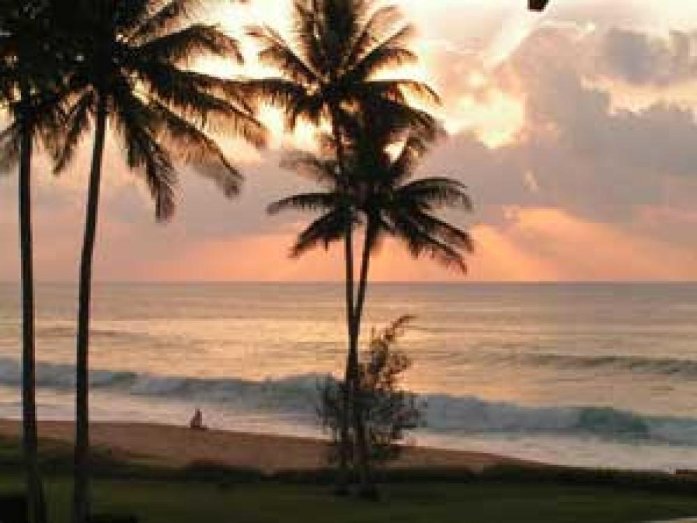 Oceanfront Condominium at Kalua Koi Resort