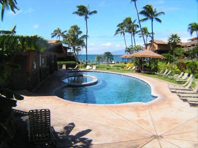 1 Bedroom Oceanfront Condo at Kahana Sunset Resort