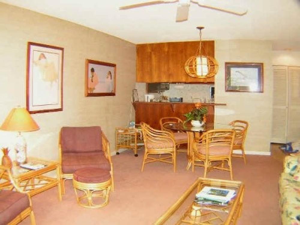 1 Bedroom Oceanfront Condo at Kahana Sunset Resort