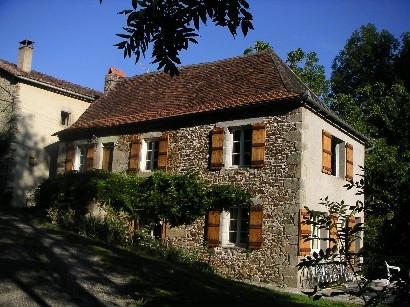 Village house near River Dordogne